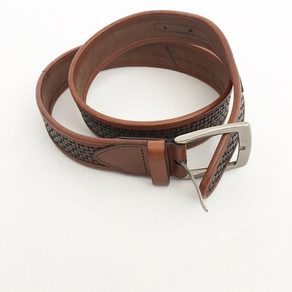 Tommy Bahama Accessories - Tommy Bahama Brown Leather Belt 32